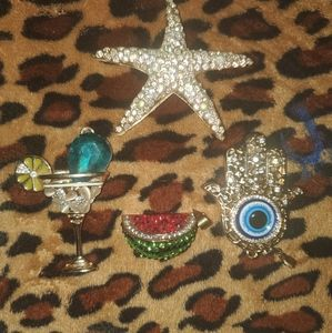 Betsey Johnson charms